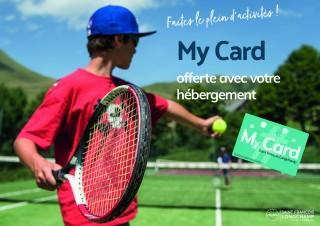 My card offerte avec votre séjour