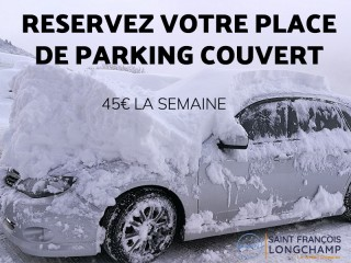 parking couvert semaine