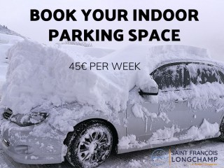 week indoor parking space
